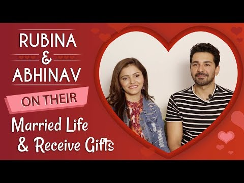 Rubina Dilaik And Abhinav Shukla On Their Married