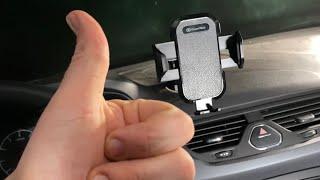 Handyhalterung für PKW Lüftung & Saugnapf Halterung Auto KFZ Smartphone Dock unboxing und Anleitung