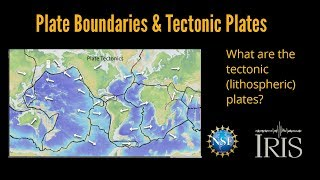 Tectonic Plates—What are the lithospheric plates?  (Educational)