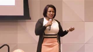 """""""Be Bold, Be Real and Lead with Love"""" keynote by Sally Elatta"""