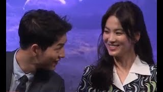 Song Joong Ki & Song Hye Kyo Sweetest And Precious Moments