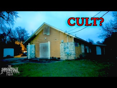 Does A Cult Meet In This Abandoned Church I Found?