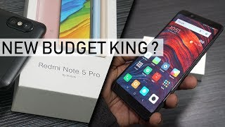 Xiaomi Redmi Note 5 Pro Unboxing Review | New Budget King Smartphone