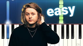 Lewis Capaldi   Someone You Loved (100% EASY PIANO TUTORIAL)