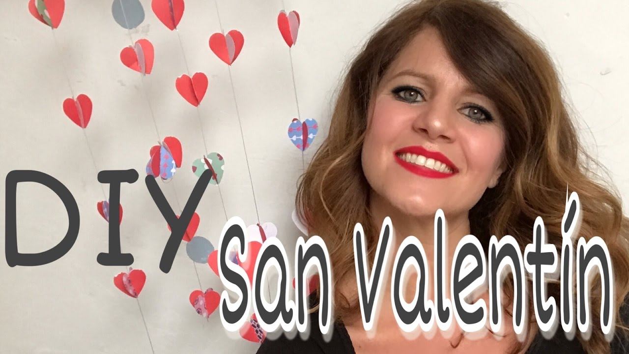 CORAZONES en 3D para amores eternos/ DIY San Valentín
