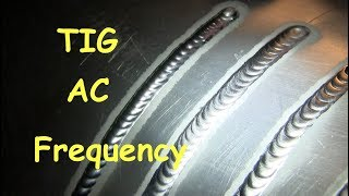 TIG Welding Aluminum at 50hz vs 250hz