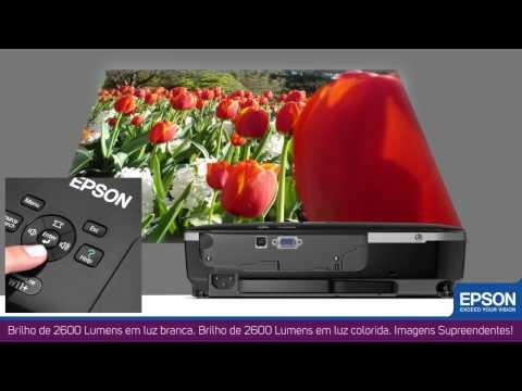 Projetor Epson PowerLite W11+