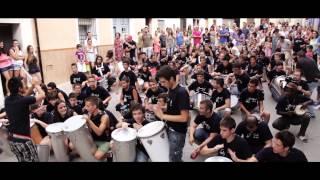 Rafa NAVARRO dirige la Batucada Brasileira del ALUMNADO PercuFest 2013