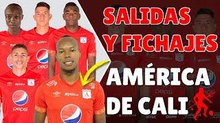 SALIDAS Y FICHAJES AMÉRICA DE CALI 2019 | EDWIN VELASCO PRIMER REFUERZO | SALIDA DE CUATRO JUGADORES