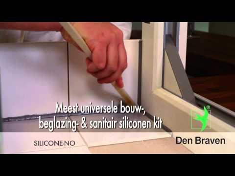 Zwaluw siliconenkit NO+sanitary