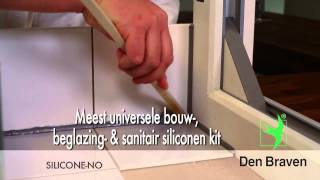 instructievideo Zwaluw  Silicone NO+ sanitairy 310ml