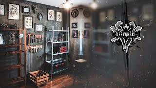 Art Studio / Workshop Makeover   Complete Room Transformation