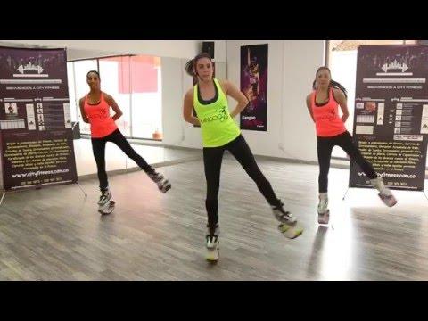 kangoo Jumps para principiantes - City Fitness