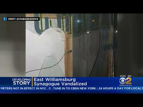 NYPD: Brooklyn Synagogue Vandalized In Possible Hate Crime