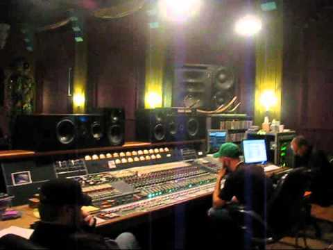 Counterfist in RadioStar Studios with Sylvia Massy