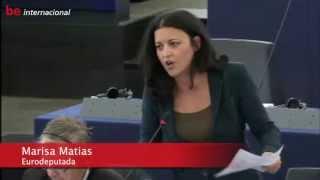 Marisa Matias - Síria: A Guerra Não é Opção! - 2013/09/11