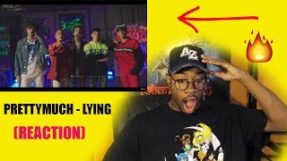 PRETTYMUCH   Lying (Official Video) Ft. Lil Tjay *REACTION* 🔥🔥