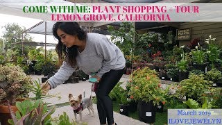 Come with me: Plant shopping + tour | Lemon Grove, CA  | March 2019 | ILOVEJEWELYN