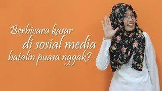 Hukum Bicara Kasar di Sosial Media saat Bulan Ramadan