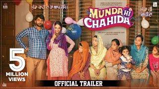 Munda Hi Chahida  | (Official Trailer) | Harish Verma & Rubina Bajwa | Releasing On 12th July 2019