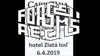 Video Forseti Reims, Hotel Zlatá Loď, Týn nad Vltavou, 6 4 2019