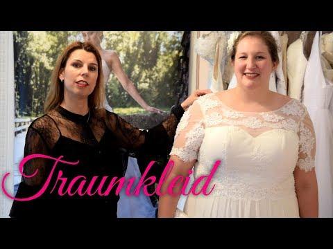 Standesamtkleid für die XL Braut