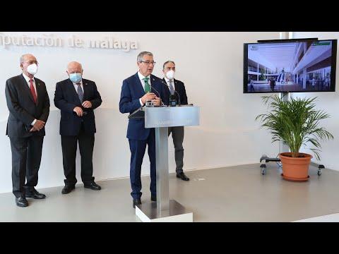 Acto de cesión de la Diputación de Málaga de los terrenos del Hospital Civil a la Junta de Andalucía