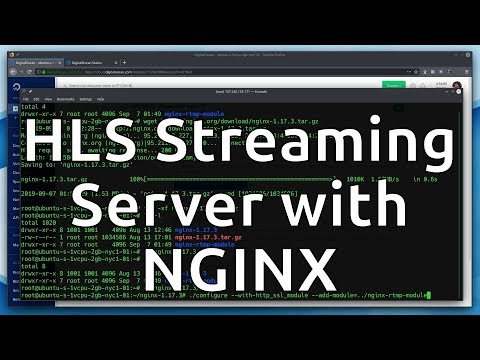 HLS Streaming Server with NGINX