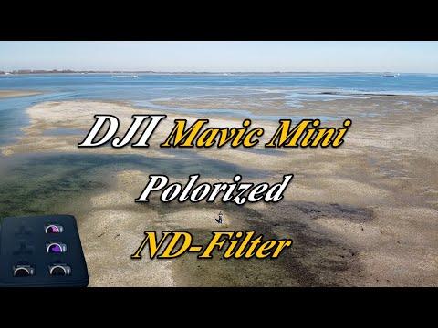 DJI Mavic Mini Polarized ND Filter ND4 ND8 ND16 ND32 Comparison
