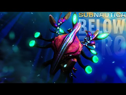 The REAL Monster Finally Arrives - Shadow Leviathan Sounds & Ice Worm Update - Subnautica Below Zero