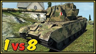 FV4004 Conway - 1 vs 8 - 11 Kills - World of Tanks Gameplay
