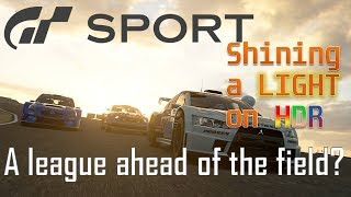 GTSport: PS4 & PRO comparison, Frame-rates and the complete analysis