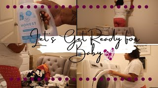 Let's Get Ready for Baby/Clean & Organize Baby Nursery With Me...HeyItsVee_ ❤️❤️❤️