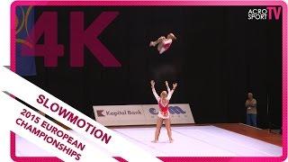 Patchenko, Kotliar, Panchuk   Ukraine   Senior Dynamic Final   European Championship 2015