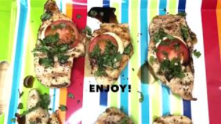 Caprese Grilled Chicken