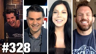#328 AMERICA'S DONE APOLOGIZING! Ben Shapiro, Blaire White, Ryan Bader Guest   Louder With Crowder