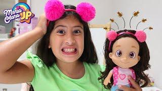 Minha boneca Maria Clara pegou piolho e agora? ♥ My doll caught lice and now?