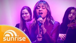 Jessica Mauboy Performs 'Little Things' Live | Sunrise