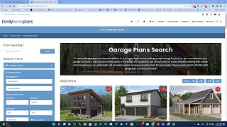 Learn To Search For Garage Plans At FamilyHomePlans.com | How-To Video Series
