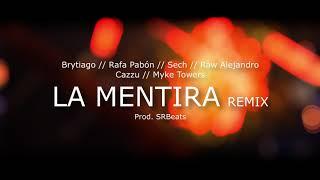 Brytiago   La Mentira Remix Feat Rafa Pabón, Sech, Raw Alejandro, Cazzu, Myke Towers [Prod.SRBeats]