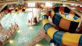 preview picture of video 'Great Wolf Lodge, Niagara Falls, January 2013'