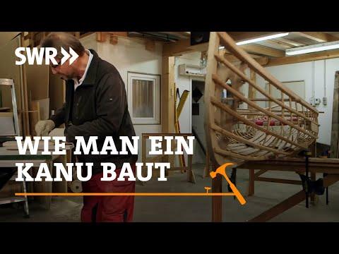 Handwerkskunst! Wie man ein Kanu baut | SWR Fernsehen