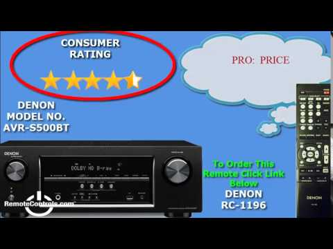 Review Denon A-V Receiver 5.2 Channel  with 4K Capability and Bluetooth- AVR-500BT