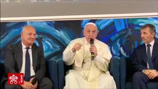 """Papa Francisco: """"Scholas despierta la creatividad en los jóvenes""""  2019-03-22"""