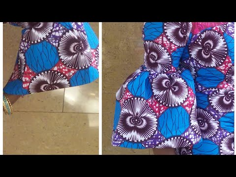 How to Cut & Attach  Bell Sleeves(simple method)
