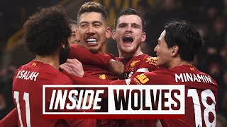 Inside Wolves: Wolves 1-2 Liverpool | TUNNEL CAM at Molineux