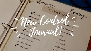 New Control Journal (with Free Printables)