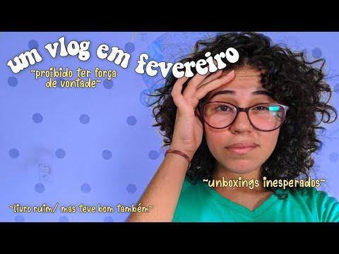 um vlog + unboxing atrasados, porque eu não sei ser frequente