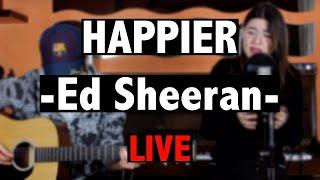 HAPPIER   Ed Sheeran | Flavia Iacobelli & MM (Acoustic LIVE Cover)
