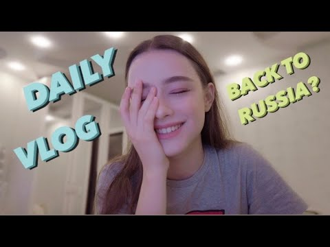 VLOG from RUSSIA???????? My hometown/shopping/Korean restaurant & WILL I GET A YOUTUBE SILVER PLAY BUTTON?